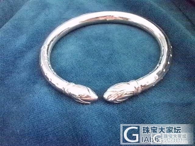 晒晒给买家做的几款镯子_手镯传统银饰