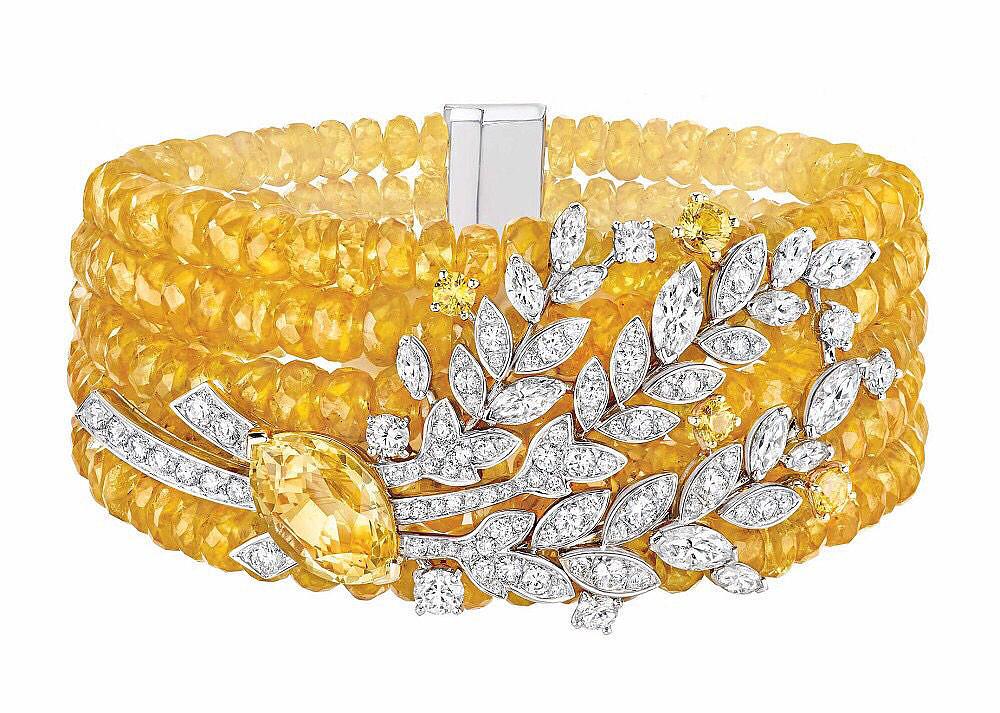 Chanel推出新一季高级珠宝_珠宝设计