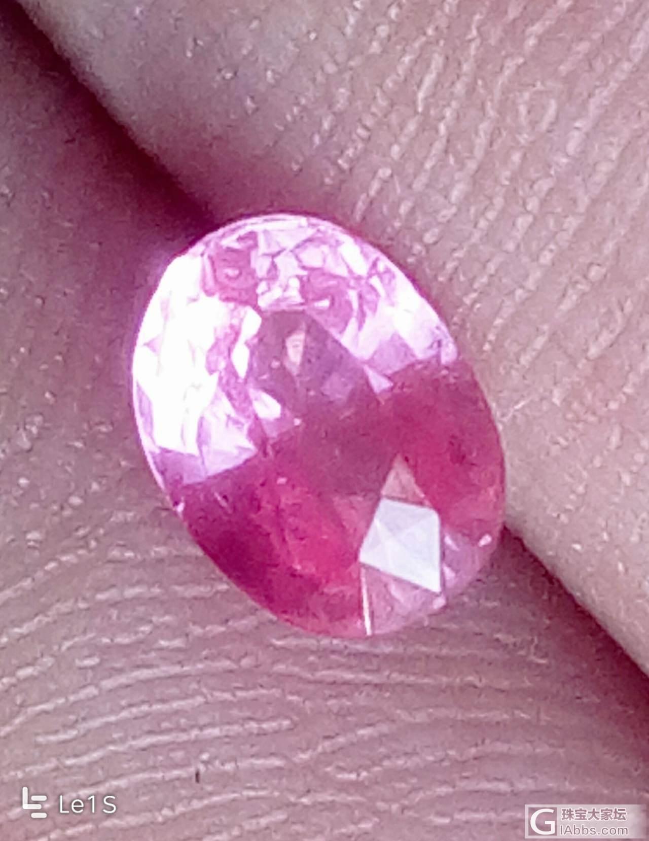 还图帕帕拉恰_蓝宝石刻面宝石