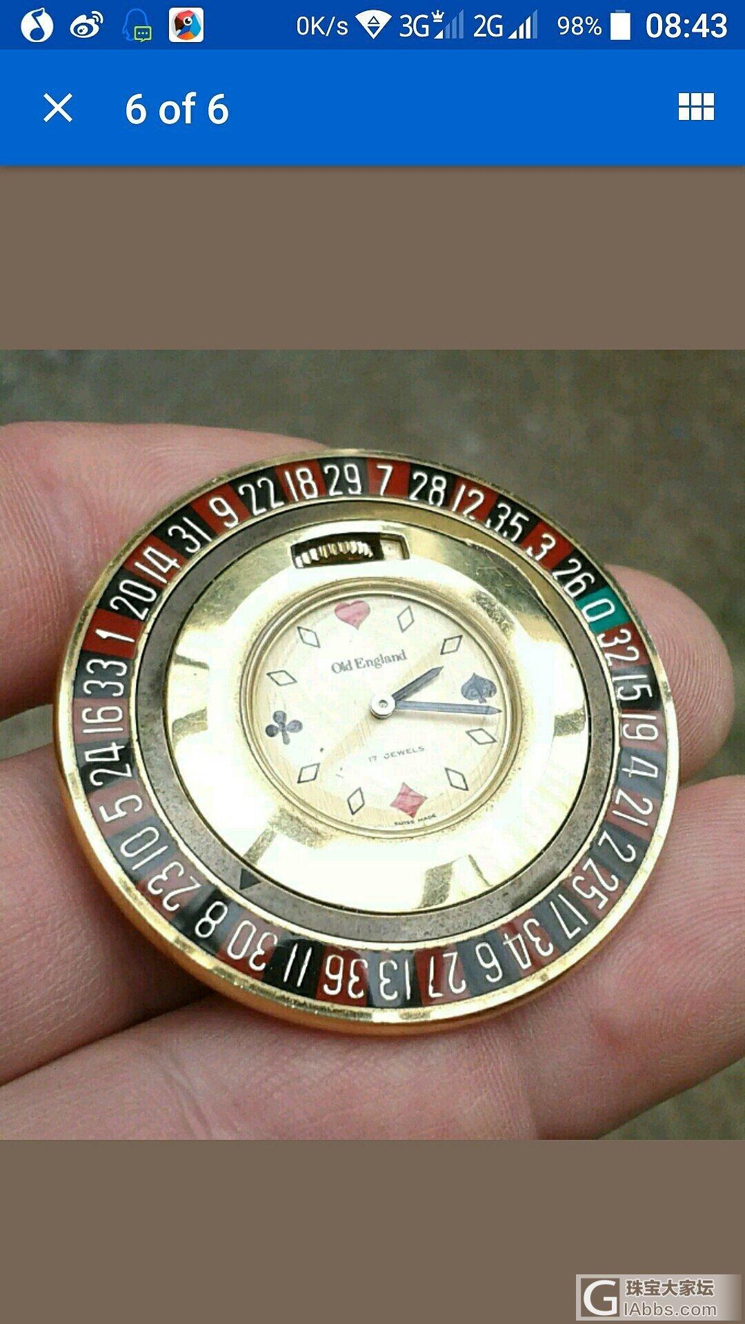 有谁懂手表帮看一下!?_手表
