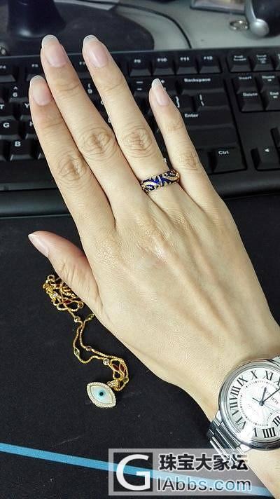 赶在5.20到手的礼物~祝大家明天都能得偿所愿~!_项链戒指金