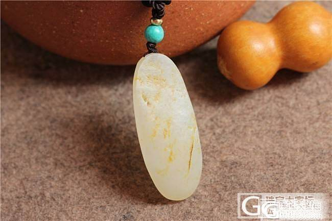 和田玉籽料饕餮守护牌&和田玉籽料满皮小龙佩_传统玉石