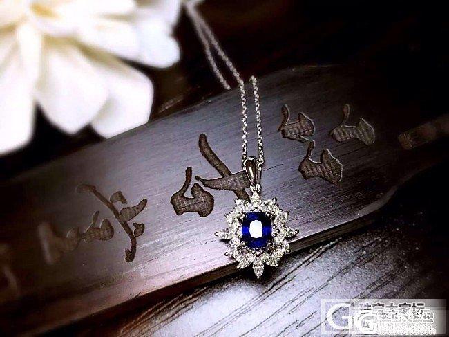 【RBG 定制欣赏】天阶月色凉如水,光华璀璨耀星辰_上海皇家蓝彩宝