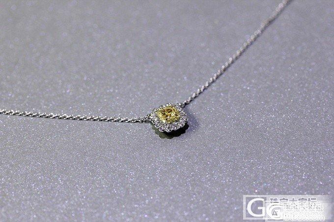 【圣韵宝宝】黄钻豪华镶嵌锁骨链(现货)_圣韵钻石