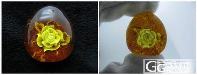 【苏辰顽石】琥珀蜜蜡原石、成品_有机宝石