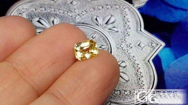 【蓝宝石】1.08克拉无烧黄色蓝宝石,GIC证书_上海皇家蓝彩宝