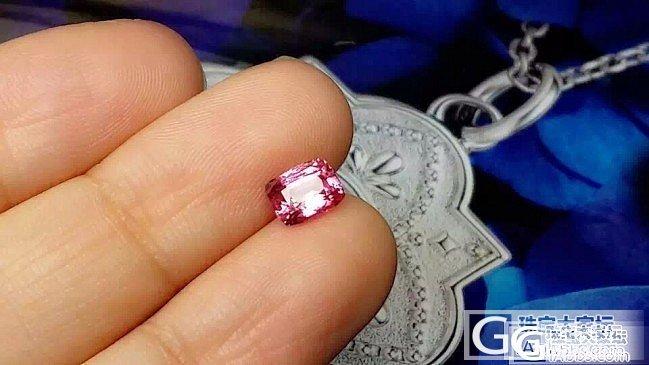【蓝宝石】1.25克拉无烧粉蓝宝,干净晶体好_上海皇家蓝彩宝