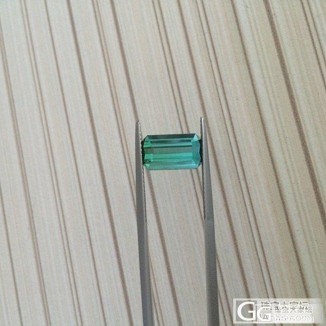 【傲蕾伊兰珠宝】3.36克拉蓝绿渐变碧玺 做个小清新的戒指吧_傲蕾伊兰珠宝