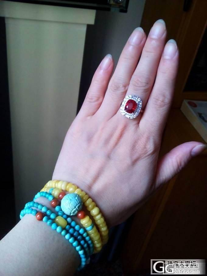我都分不清这是在晒什么了_琳琅满目刻面宝石尖晶石松石