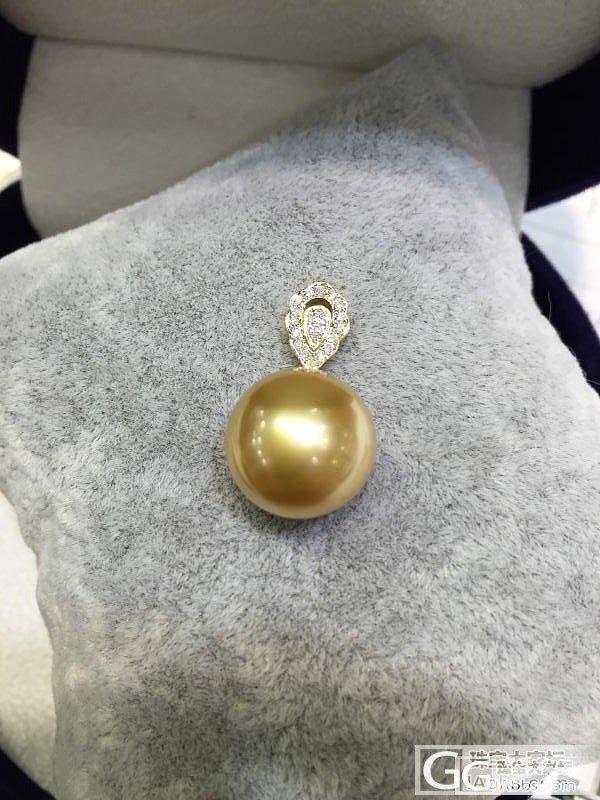 准备送给妈妈的南洋金珠,亲们看看如何_珍珠