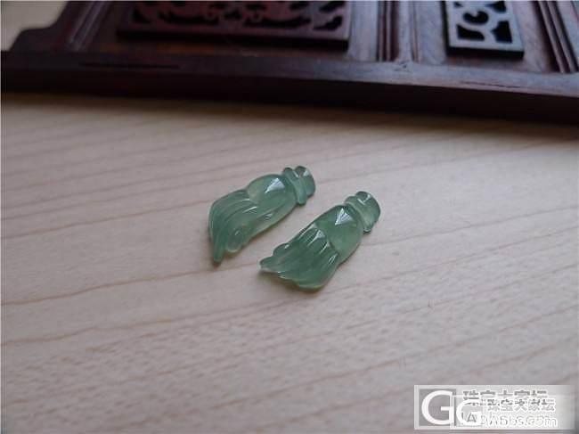 【小蛋蛋美玉】蓝水佛手一对,售价600,微信号:feicui200_小蛋蛋美玉店