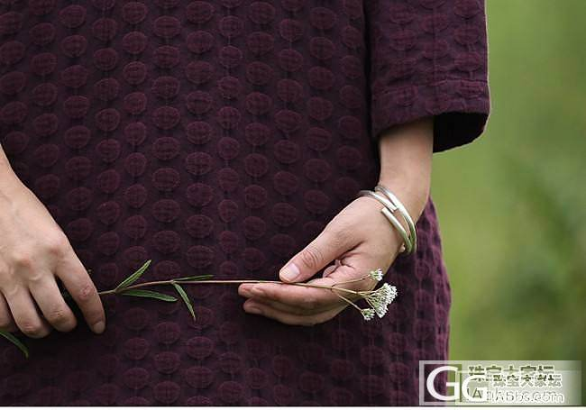 自然生长的银镯子——你能接受[你的样子]么?_手镯银