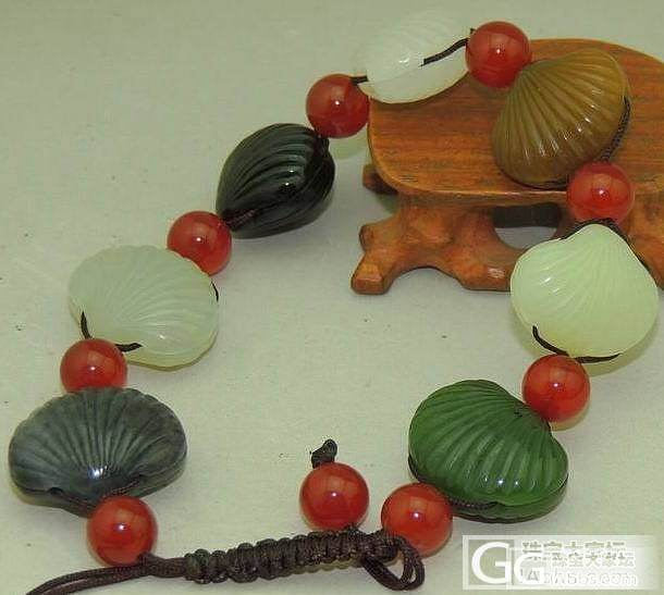 【新疆的猫】新宝贝8.4——珍品秀美羊脂原籽手链(一帖多物)_传统玉石