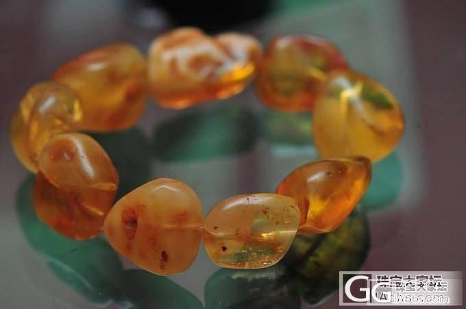 个人闲置的一堆蜜蜡 琥珀_有机宝石