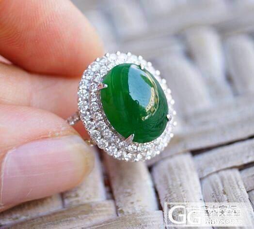 绿进心里的两颗戒指_戒指翡翠