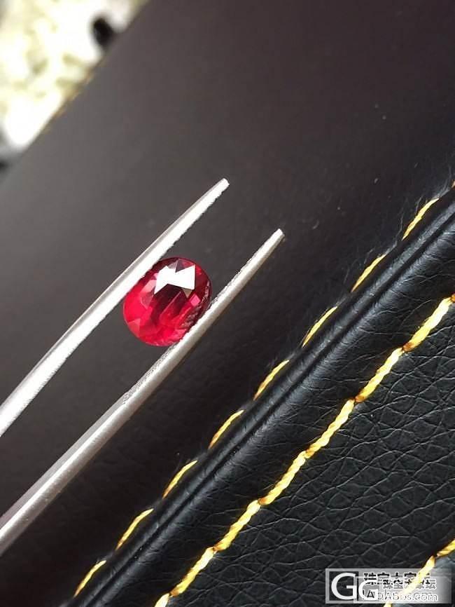 1.83克拉鸽血红,求指点_刻面宝石红宝石