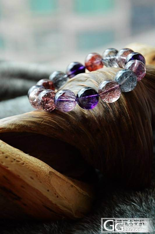晒晒我的各种水晶收藏,慢慢更新~蓝色控的老琉璃(8.13更新)_珠宝