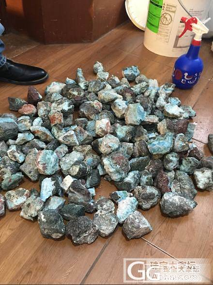 海纹石原石,有喜欢的联系~_宝石