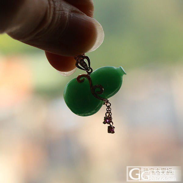 【Dudu】糯种满绿葫芦 (微信号:dudujade)_Dudu翡翠