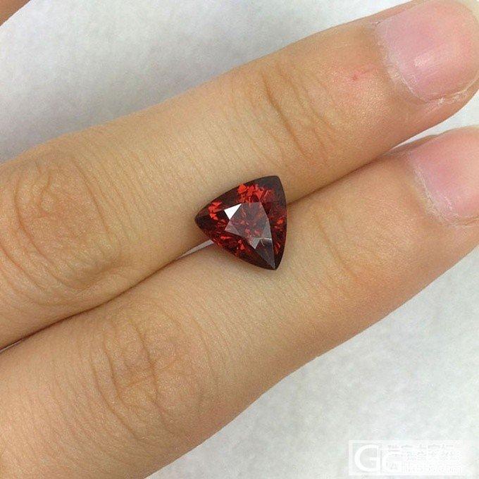 【宝石工匠】8月6日更新石头,钻石侧面形切黄水晶,三角形石榴石,方形粉碧玺等。。_宝石