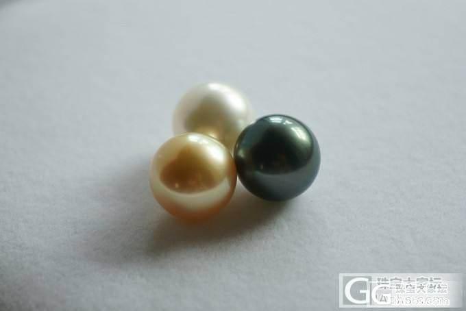 黑白金凑一起_珍珠珠宝