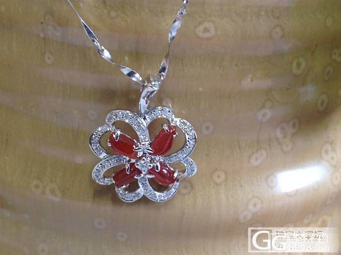 新春活动开始啦!先上两个天然冰种红翡的定制镶嵌款!!_镶嵌珠宝