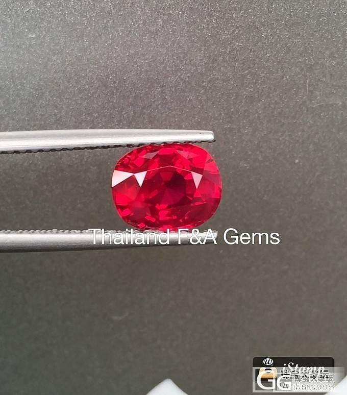 缅甸2克拉鸽血红宝石,超高饱和度,肉眼干净,颜色是正红,一点都不黑!收藏家值得.!_红宝石刻面宝石