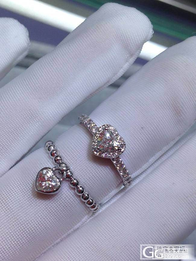 小清新钻戒来两枚_珠宝