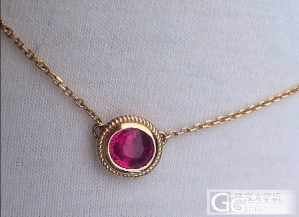 生日礼物,两款红宝石项链,哪款比较好看呢?