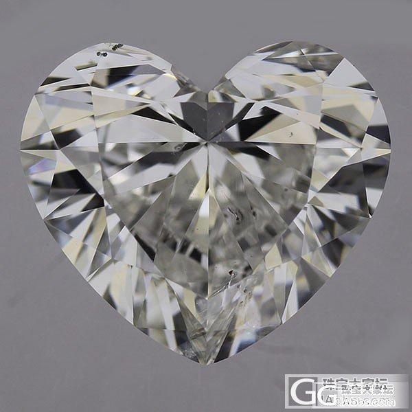 【先恩尼】1.38克拉 H色 心形 特惠2x800 GIA证书_钻石