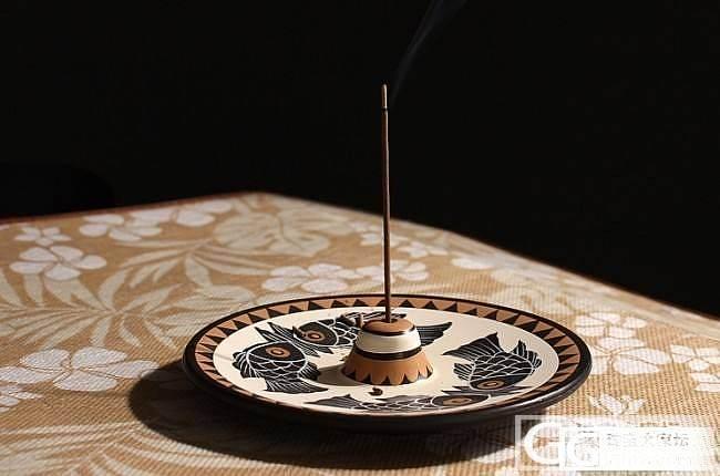 越南芽庄天然沉香线香 香熏养生 净化空气-- 送玛雅复古香碟_翡翠