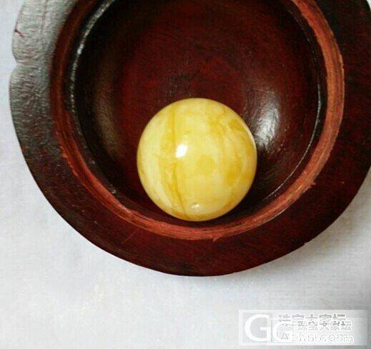 有粒23毫米的花白蜜蜡大球,想配成项链,求支招最好可以上图片_蜜蜡