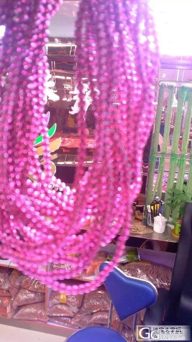 进口2A印度紫石榴石半成品长链 友友帮看是好品质么_石榴石