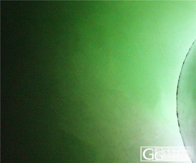 好久没玩石头了,来个带绿色哒~【已切】_翡翠半成品