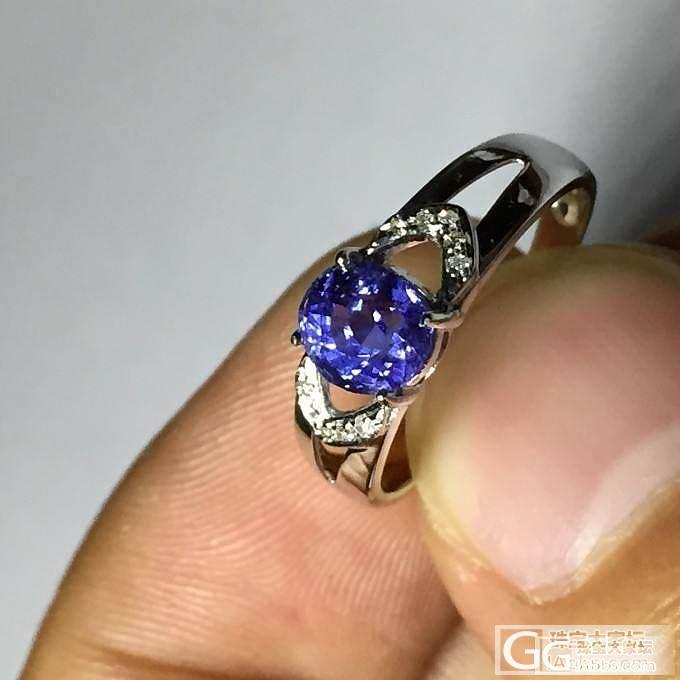 1.3克拉兰卡天然无烧蓝宝石戒指 这个蓝是不是有点浅_蓝宝石