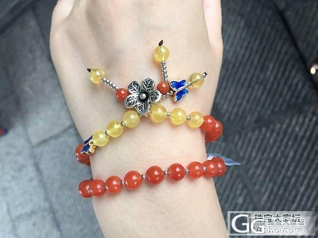 【北辰珠宝】天然南红圆珠手链_史书翡翠