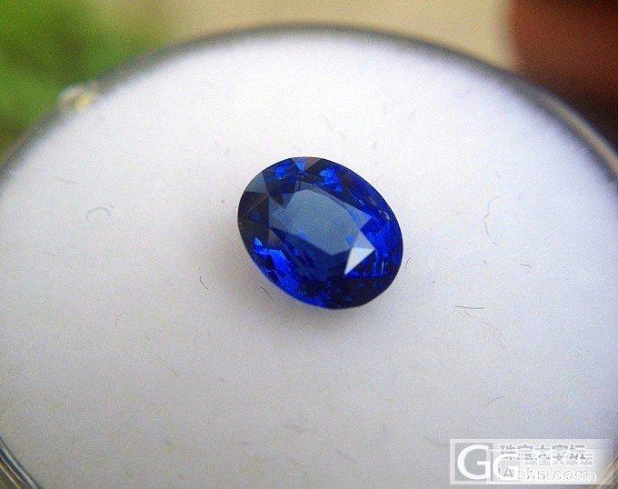 1卡小皇家蓝_蓝宝石刻面宝石