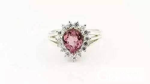 水滴形碧玺裸石,手链,吊坠,戒指都是超美的_刻面宝石碧玺