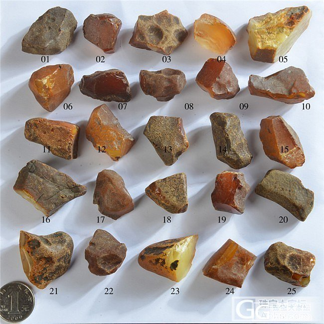 精品波罗的海蜜蜡原石,高清实拍图,DIY首选。_珠宝