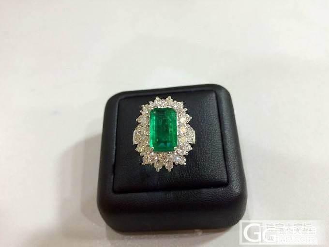超美杂质少赞比亚祖母绿戒指_祖母绿琳琅满目刻面宝石