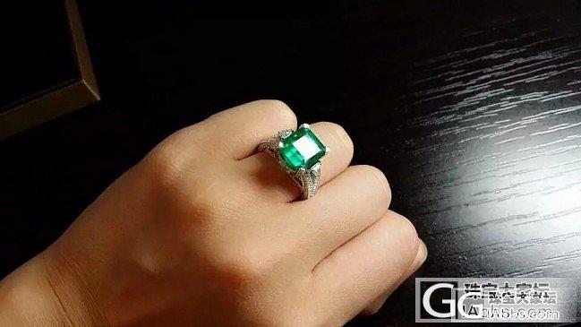 【RBG 定制欣赏】5克拉哥伦比亚祖母绿戒指,越看越爱,各个角度看都是美轮美奂_上海皇家蓝彩宝