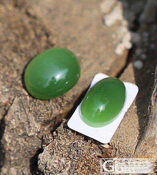 【嫣的店】天然和田玉碧玉 猫眼儿戒面  可自己随意镶嵌哦_传统玉石