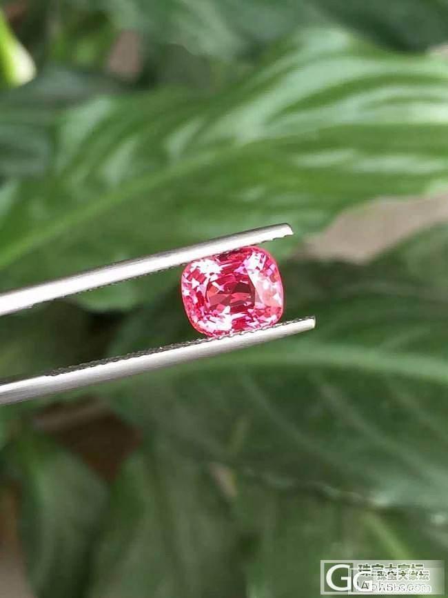 缅甸极品尖晶的真实模样_刻面宝石尖晶石