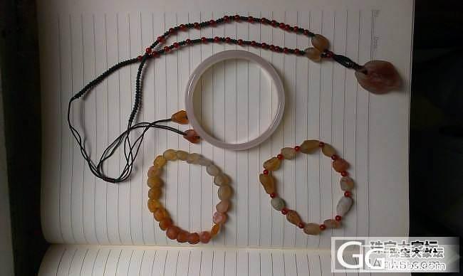 玛瑙手镯,阿拉善玛瑙套装,自刀120打包出_珠宝