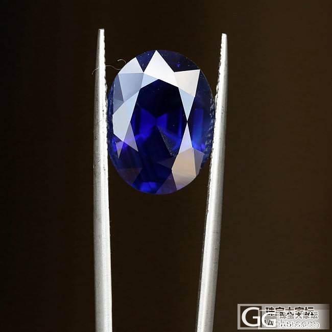 几个不错的蓝宝石,7-10克拉_蓝宝石刻面宝石