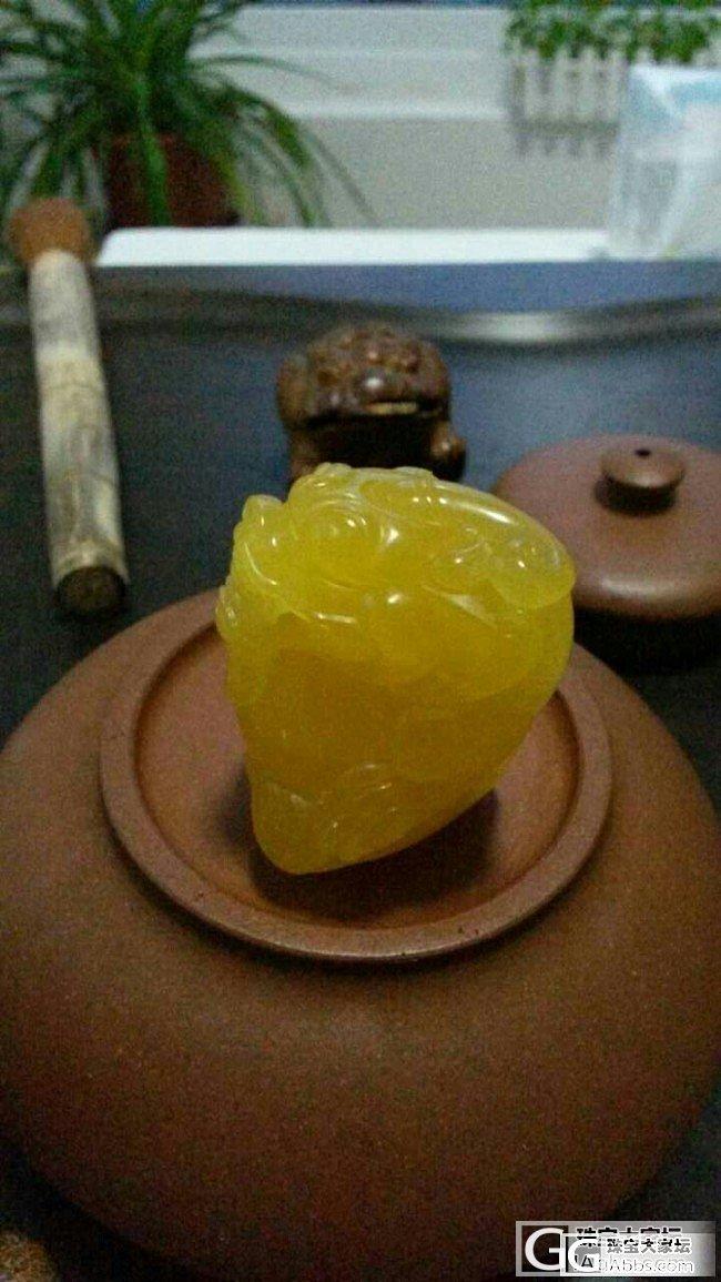 琥珀、蜜蜡,名家雕刻龙纹桃核十八罗汉_有机宝石
