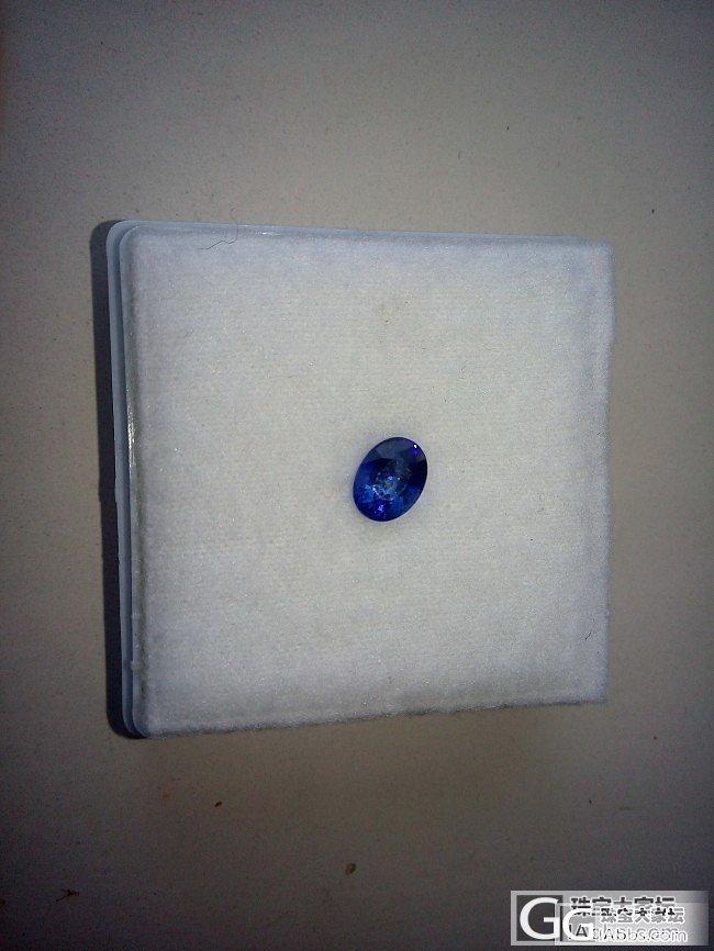 这样的小蓝宝还可以吗_刻面宝石蓝宝石