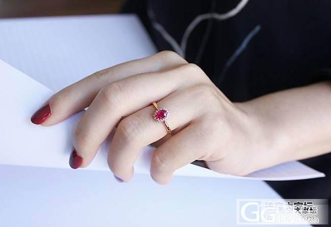 小戴妃红宝石戒指_珠宝