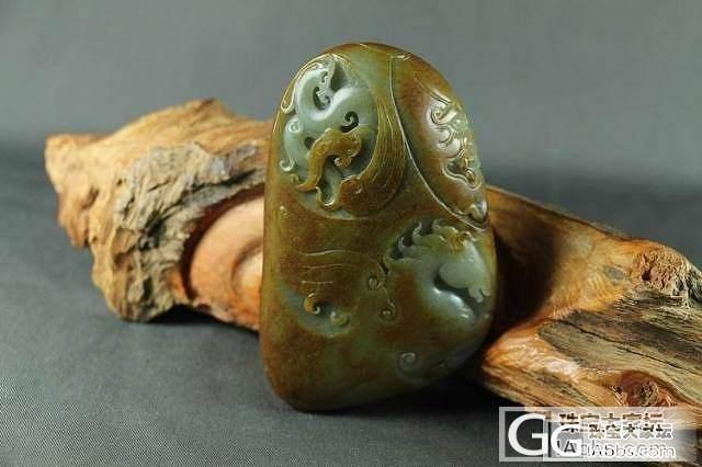 和田玉把件 保真 支持复检 肉质细腻手感圆润青白玉籽料龙马精神_传统玉石