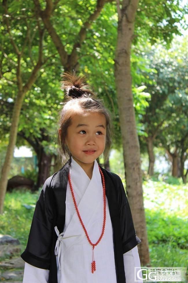"""2015-07-05 今天在南少林赚足回头率的顽皮""""小道姑""""_贴图摄影珠宝"""